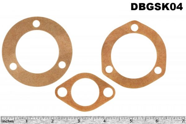 DB Gasket set (3) for steering rack. All DB 2.6 and 3 Litre models.
