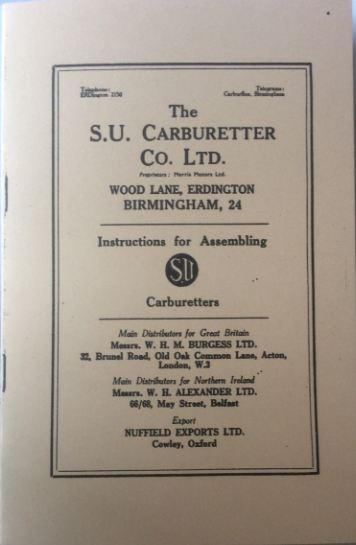SU Carburetter Handbook